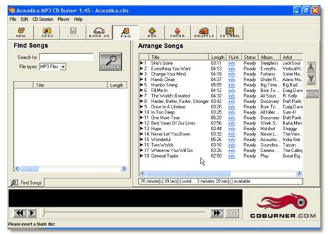 download mp3 from cd mp3 cd software com featured mp3 cd burner software to
