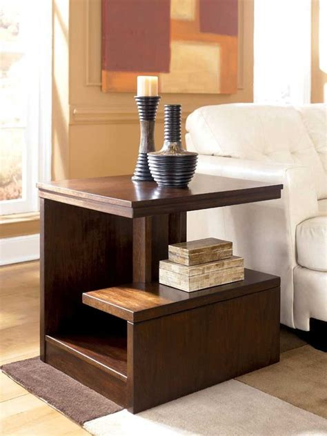 decorating idea flank table modern modern side table design arranging books on modern side