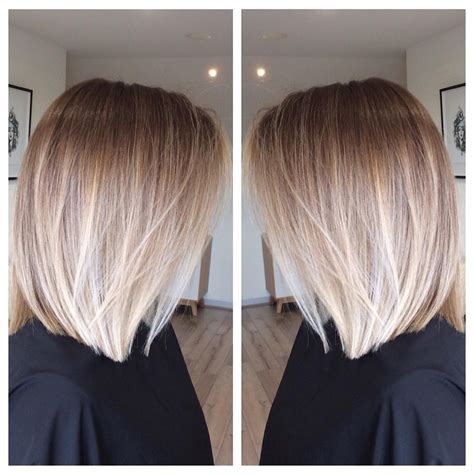bob blonde ombre image result for balayage ombre bob стрижки pinterest