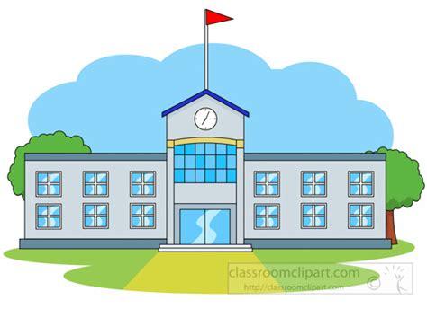 school clipart architecture front of school building clipart clipart