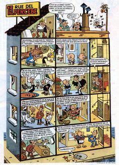 13 rue del percebe 13 rue del percebe on comic books buildings and panelling