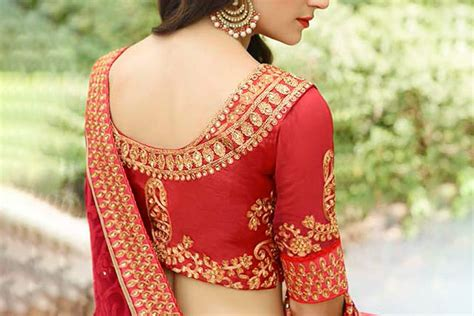 design pic 7 saree blouse designs for women with a small bust the