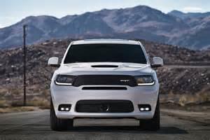 Dodge Durango Suv 2018 Dodge Durango Srt Becomes Most Powerful Three Row Suv