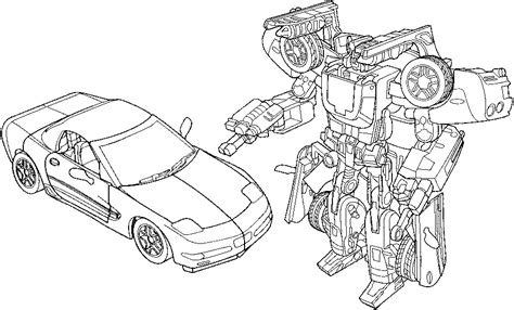 transformers car coloring page transformers coloring pages car and robot free printable