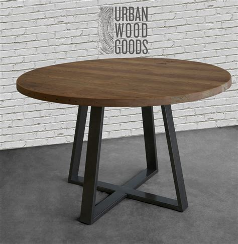 Reclaimed Wood Dining Table With Metal Legs Dining Table In Reclaimed Wood And Steel Legs In Your