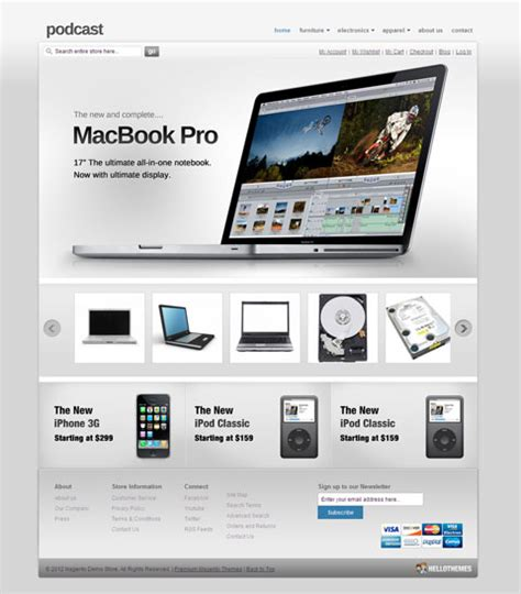 themes agent iphone hellopodcast magento apple store theme for iphone laptop
