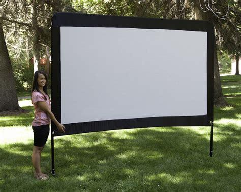 backyard movie screen amazon com c chef 120 inch portable outdoor movie