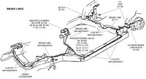 Brake Line Parts Diagram Brake Lines Diagram View Chicago Corvette Supply