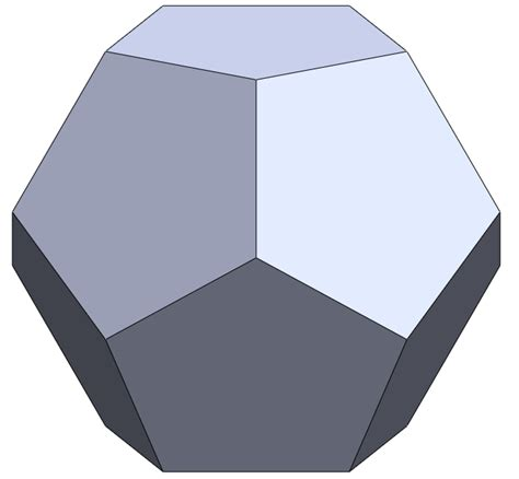 how to model a dodecahedron in solidworks