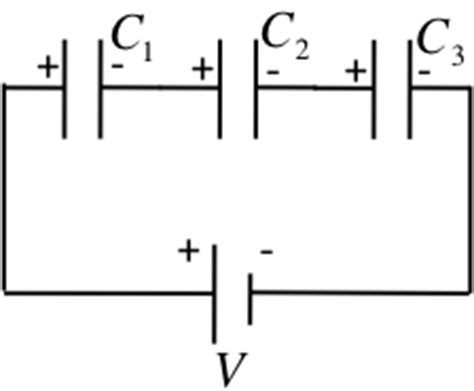 capacitor in series theory capacitors connected in series 28 images chapter 26 capacitance 26 1 definition of