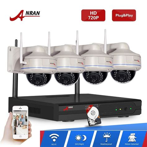 anran hd 1280 720p ip wireless outdoor home security cctv