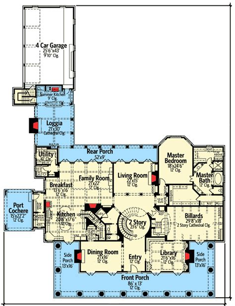 southern plantation floor plans your own southern plantation home 42156db architectural designs house plans