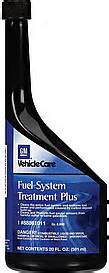 Fuel System Treatment Plus Gm Fuel Additive Fuel System Treatment Plus 20 0 Fl Oz