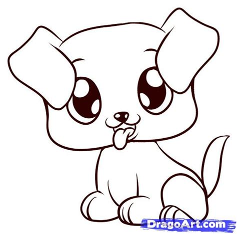 how to draw a puppy easy how to draw a puppy step by step pets animals free drawing tutorial added