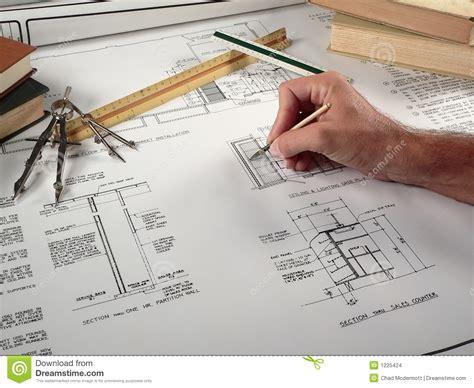 Architect Work Architect At Work Stock Images Image 1225424