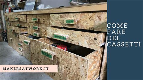 costruire un cassetto in legno fai da te come fare dei cassetti in legno in modo