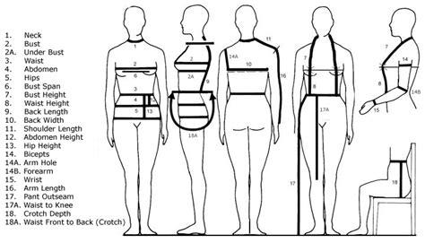 measurements template pgm dress forms e book photo album pgm dress form