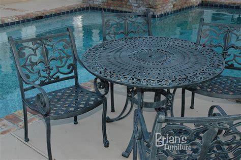 Fleur De Lis Patio Furniture Fleur De Lis Table Outdoor Furniture Cast Aluminum