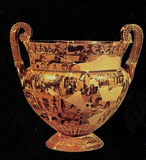 antichi vasi funebri immagini ceramica etrusca