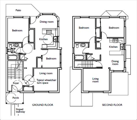 Mother In Law Apartment Plans by Accessible Housing By Design House Designs And Floor Plans Cmhc