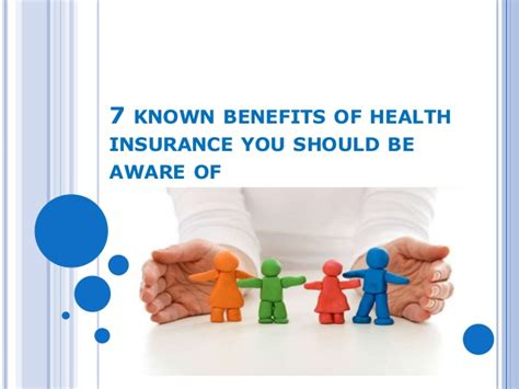 7 Health You Should by 7 Known Benefits Of Health Insurance You Should Be Aware Of