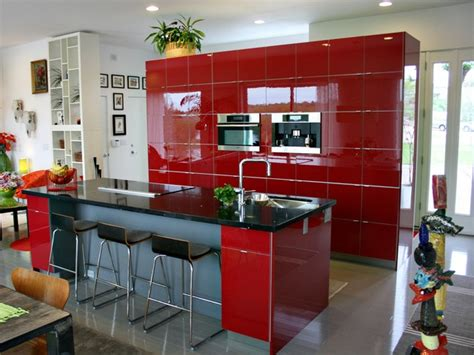 ikea red kitchen cabinets red ikea kitchen continuous wall of cabinets kitchen