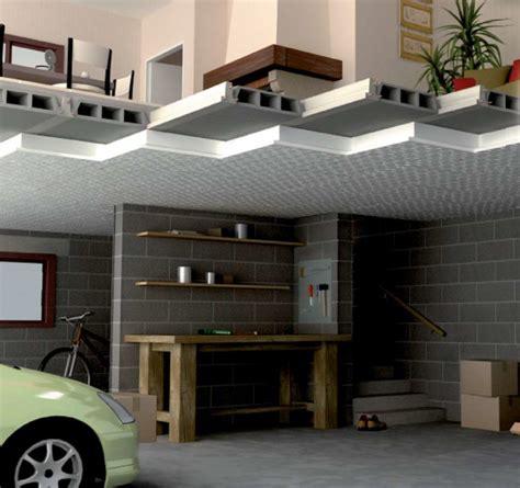 Isolation Plafond Garage Beton by Isolation De Plafond Par Pose De Panneaux Isoltop