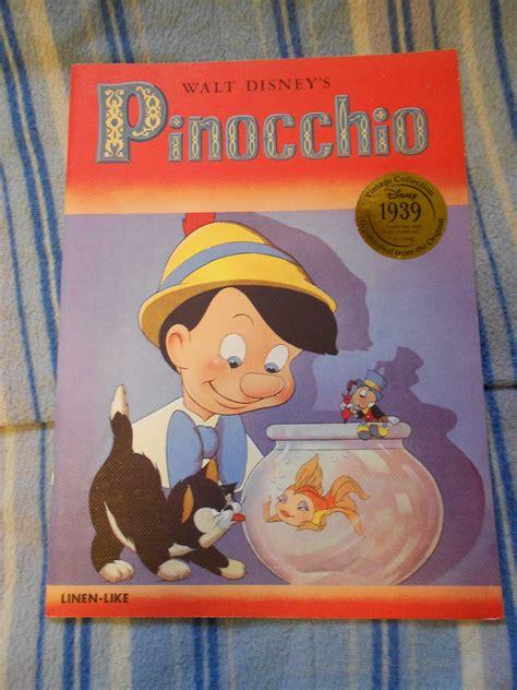 pinocchio picture book children s books pinocchio walt s writers