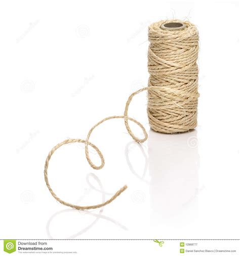 String Pictures - roll of thick string royalty free stock photography