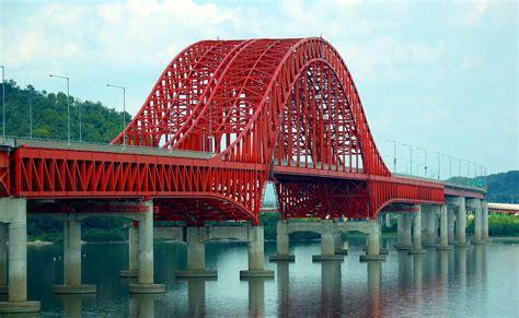 redness in s file bridge in south korea jpg wikimedia commons