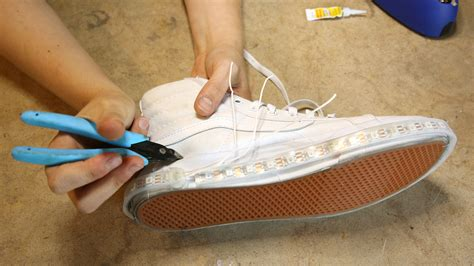 diy light up shoes how to make your own light up shoes style guru fashion