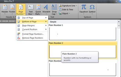 cara membuat nomor halaman huruf romawi ayo tuntut ilmu cara membuat nomor halaman yang