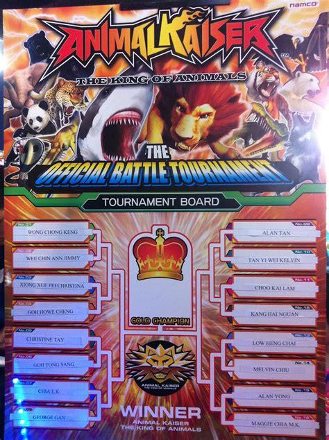 animal kaiser   card games ak tournament  tampines mall timezone
