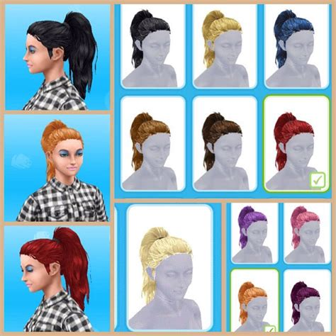 hairstyles quest sims freeplay the sims freeplay mean curls hobby event all 9