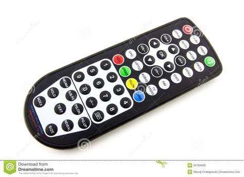 Pilot Digital Water Proof waterproof tv remote stock photo image 34184690