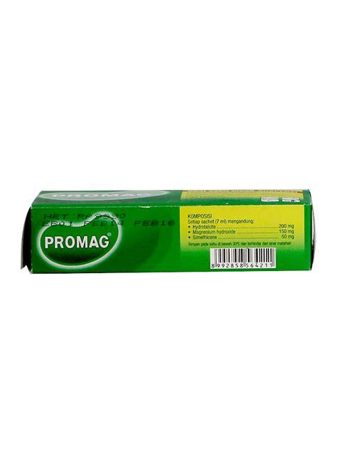 Obat Asam Lambung Suspensi promag obat sakit maag liquid suspensi box 6x7ml