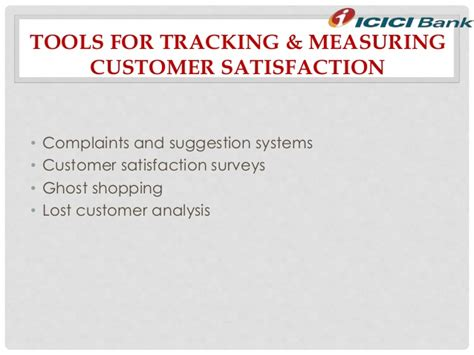 bank customer satisfaction customer satisfaction through icici bank services
