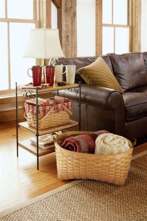 tips  neat home space  blanket storage ideas