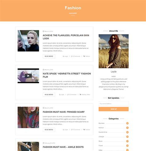theme blog elegant elegante clean elegant multi purpose wordpress blog