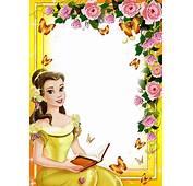 Central Photoshop Frames PNG Fotos Princesas Disney 2