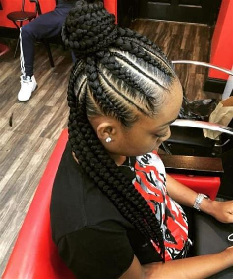 cool box braids hairstyles 2016 hairstyles 2017 hair 2018 braided hairstyle ideas for black women the style