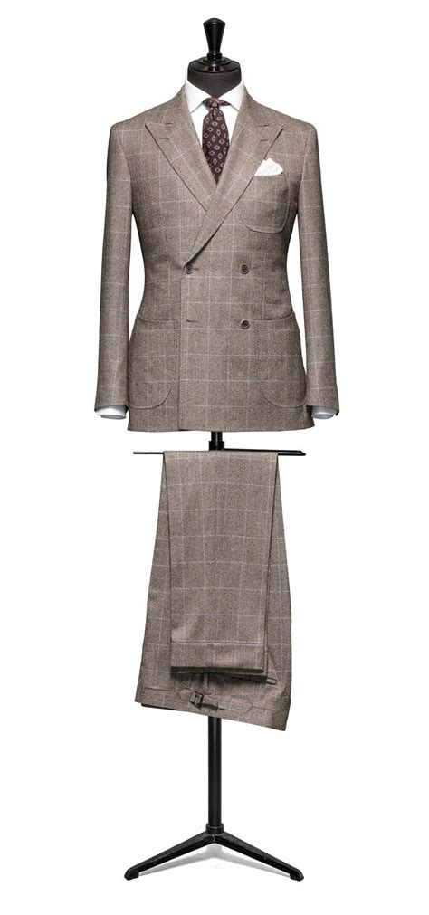 tailored 2 piece suit fabric 4358 houndstooth check brown 25 best ideas about tailored suits on pinterest suit