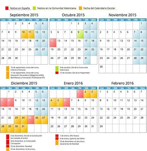 ajd a febrero 2016 en comunidad valenciana calendario escolar comunidad valenciana