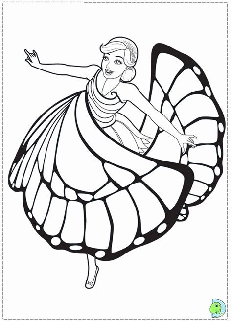 barbie mariposa coloring pages coloring home