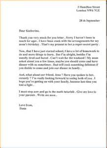 Thank You Letter Format Informal 8 Informal Letter To A Friend Lease Template