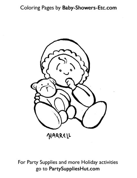 free printable coloring pages baby shower freecoloring4u com