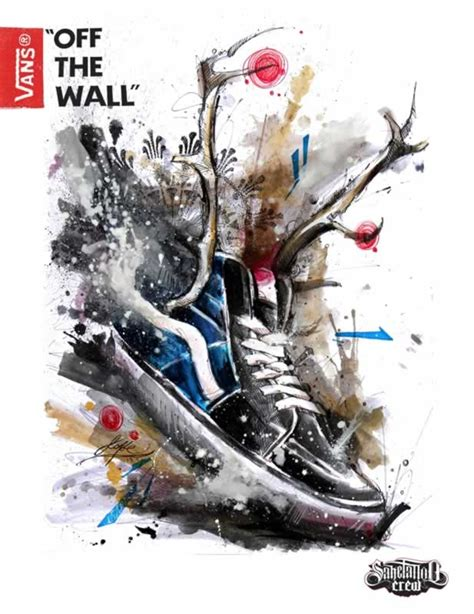 vans off the wall classic athens sake tattoo crew sake