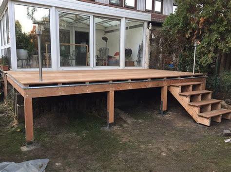 Erh Hte Terrasse Bauen 2446 by Die Besten 25 Erh 246 Hte Terrasse Ideen Auf