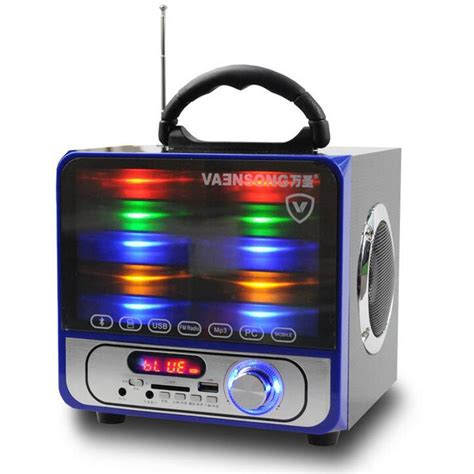 Speaker Quatro 2 Usb vaensong portable stereo bluetooth speaker 2 1 subwoofer can play tf card and usb and fm radio