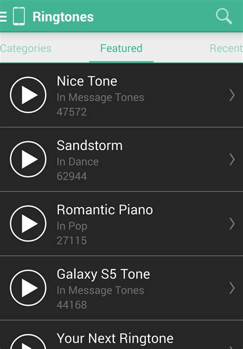 where are ringtones stored on android mtp ringtones wallpapers android apps on play